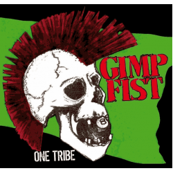 "Gimp Fist - One Tribe 12"" LP Black vinyl"