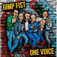 "Gimp Fist / One Voice split 7"" EP Black vinyl"