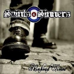 "Saints & Sinners - Skinhead Times 12"" LP red or Black Vinyl"