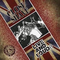 """Close Shave - Live And Loud 12"""" LP Classic Black Vinyl"""