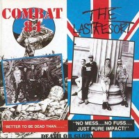 "Combat 84/The Last Resort - Death or Glory 12"" LP (250 copies/red vinyl)"