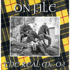 "On File - The Real Mc Oi! 12"" LP Yellow vinyl"