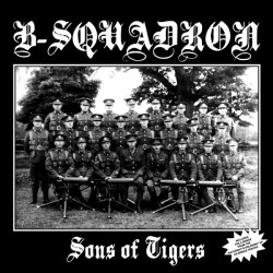 """B Squadron - Sons Of Tigers 12"""" LP Clear vinyl"""