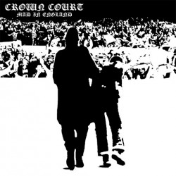 "Crown Court - Mad In England 7"" EP (white vinyl/high gloss laminate sleeve)"