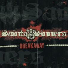 """Saints & Sinners - Breakaway 12"""" LP Black and Black and Orange Vinyl"""