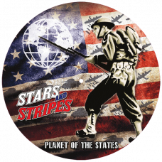 """Stars And Stripes - Planet Of The States 12"""" limited pic disc LP incl poster and patch"""