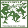 "Skins`n`Punks Vol 2 - The Strike/The Betrayed 12"" LP"