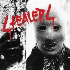 "Stealers -S/T 12"" LP(red/black/white spatter vinyl)"