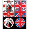 """RED ALERT / 1984 - Split 10"""" Clear Vinyl"""