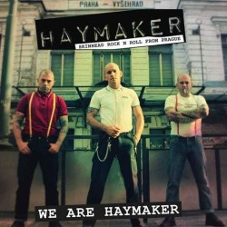 "Haymaker - We Are Haymaker 12"" LP Blue or Black vinyl (in stock 25/2/19)"