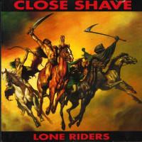"""Close Shave - Lone Riders 12"""" LP 500 copies Multicolour vinyl (in stock 22/1/21)"""