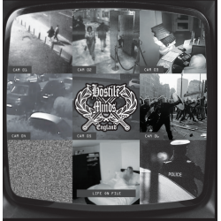 "Hostile Minds - Life On File 7"" EP (In stock 29th May)"
