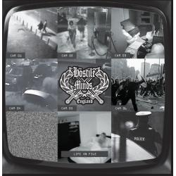 """Hostile Minds - Life On File 7"""" EP (black vinyl)"""