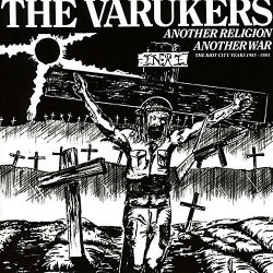"""The Varukers - Another Religion, Another War 12"""" Double Red Vinyl"""