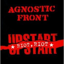 "Agnostic Front - Riot Riot Upstart 12"" LP Limited White Vinyl"