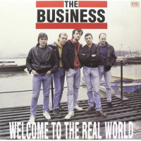 """The Business - Welcome To The Real World 12"""" LP Black or Clear vinyl"""