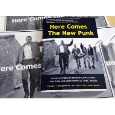 HERE COMES THE NEW PUNK - BOOK  (back in stock 23rd May)