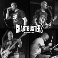 "CHARTBUSTERS -  2 Riffs, 3 Chords, Up Yours! 12"" LP (in stock first week Feb)"