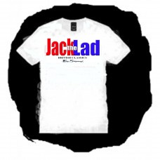 Jack The Lad - Logo T Shirt white