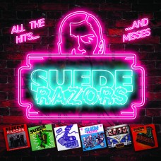 Suede Razors - All The Hits.....And Misses 6 panel CD Digipack