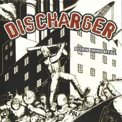 "Discharger - Born Immortal 12"" LP (lim 500 copies) BONE VINYL"