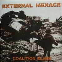 """External Menace - Coalition Blues 12"""" LP (Orange vinyl)"""