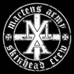 "Martens Army - Skinhead Crew 7"" EP black vinyl"