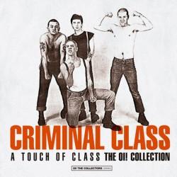 """Criminal Class - A Touch of Class 12"""" LP (325 Black vinyl + Fanzine + Stickers)"""