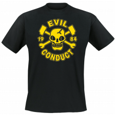 Evil Conduct - Skull T Shirt