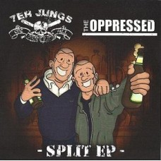 "7er Jungs/The Oppressed - split 7"" Picture Disc EP"