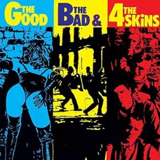 """4-Skins - The Good, The Bad and the 4 Skins 12"""" LP"""
