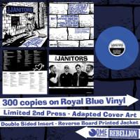 "The Janitors - Backstreet Ditties 12"" LP Blue vinyl"