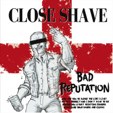 """Close Shave - Bad Reputation 12"""" LP Red/White"""