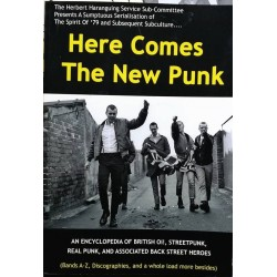 HERE COMES THE NEW PUNK (4th print run in stock 26/2/19)