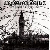 """Crown Court - Capital Offence 12"""" LP Black Vinyl"""