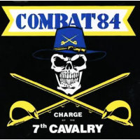 """Combat 84 - Charge of the 7th Cavalry 12"""" LP white vinyl (incl download)"""