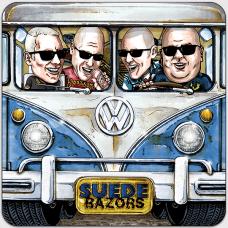 """Suede Razors - Berlin or Bust 7"""" EP (300 copies/red vinyl)"""