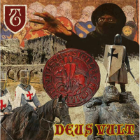 "The Templars - Deus Veult 12"" LP (black vinyl)"