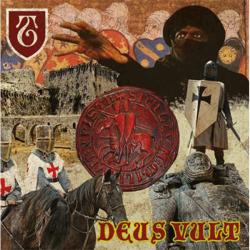 """The Templars - Deus Veult 12"""" LP (black vinyl)"""
