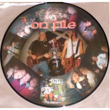 "On File - Ejected From the Premises 12"" pic disc LP"