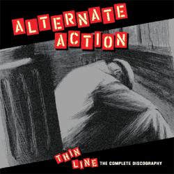 "Alternate Action - Thin Line 12"" LP (Red Vinyl)"