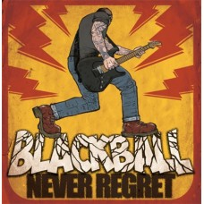"Black Ball - Never Regret 12"" LP(Orange vinyl)"