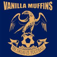 "Vanilla Muffins - The Drug is Football 12"" LP(Blue vinyl)"